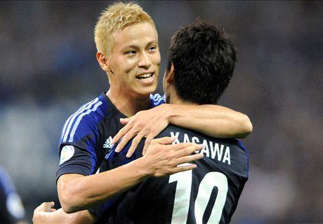 Kagawa, Honda on Asian Cup mission