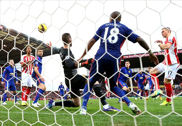 Stoke 1-1 Manchester United