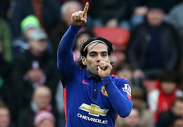 Stoke City 1-1 Manchester United: Falcao strikes to earn point for visitors