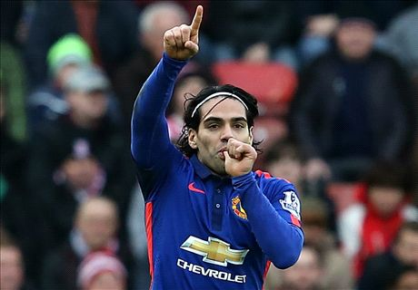 Falcao 'comfortable' at Man Utd