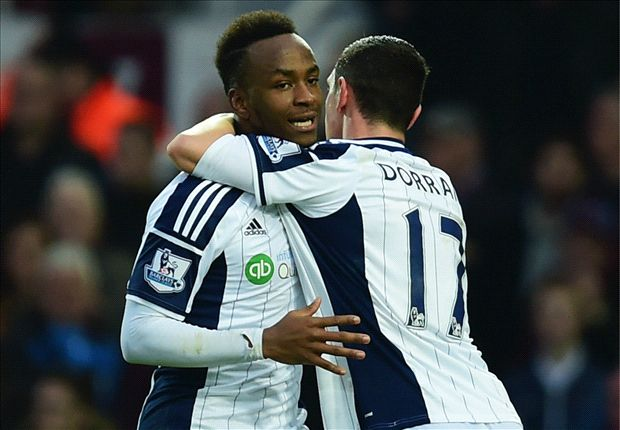 West Ham 1-1 West Brom: Berahino cancels out Sakho opener