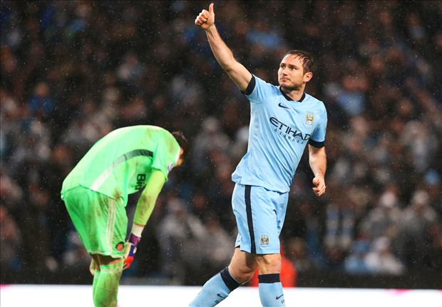 Manchester City 3-2 Sunderland: Late Lampard winner saves Pellegrini's men