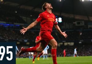 Le chiffre du 02/01/2015 - 695 - C'est le nombre de matches disputés par Steven Gerrard sous le maillot de Liverpool depuis le début de sa carrière professionnelle. Il a remporté 10 trophées en 17 ans au club, et vient d'annoncer son départ à l'issue d...