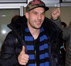 Transferts, Podolski est arrivé à l'Inter
