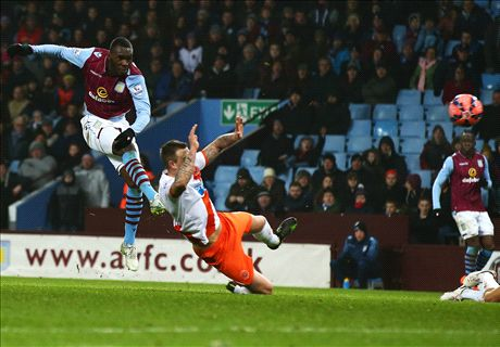 Aston Villa 1-0 Blackpool: Late win