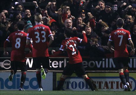 Match Report: Yeovil 0-2 Man Utd