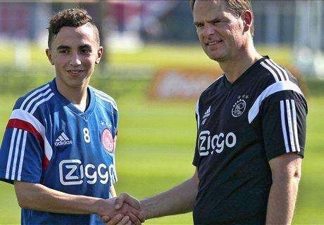 Le jeune Nouri prolonge à l'Ajax