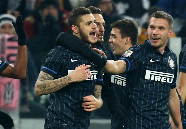Juventus 1-1 Inter: Icardi snatches draw and boosts Roma title bid
