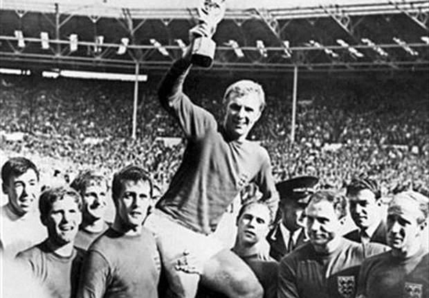 Inggris ketika menjadi juara Piala Dunia pada 1966 silam