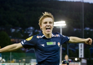 Martin Odegaard signed for Real Madrid for €3m from Stromsgodset