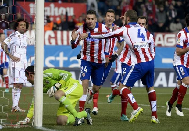 Atlético Madrid 2-0 Real Madrid : l'Atletico met le Real à terre
