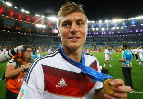 Toni Kroos recordó el Mundial