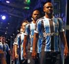 Galeria: os novos uniformes do Grêmio
