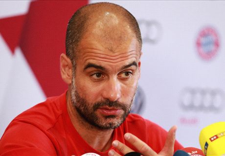 'Pep's future not important right now'