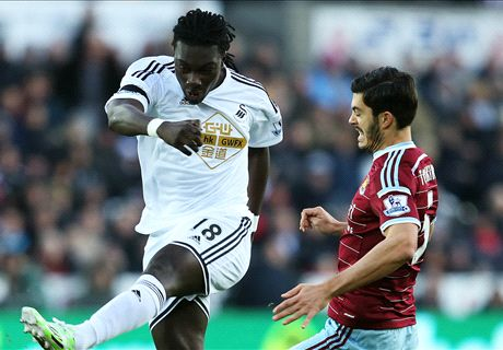 Gomis: I could leave Swansea