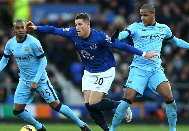 Everton 1-1 Manchester City: Los Citizens se atascan en Goodison Park