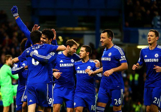 Chelsea 2-0 Newcastle: Oscar y Diego Costa mantienen líderes a los de José Mourinho
