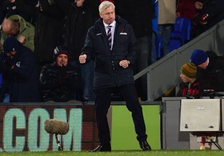 Pardew praises Palace after cup win