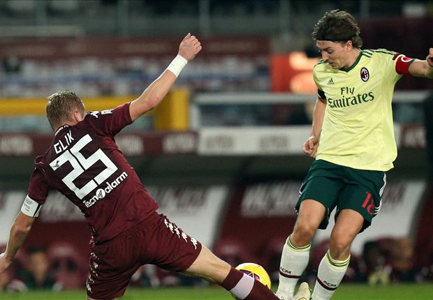 Torino 1-1 AC Milan: Ten-man visitors fail to hold on