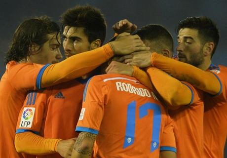Résumé de match, Celta Vigo-Valence (1-1)
