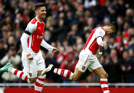 Premier League: Arsenal 3-0 Stoke City