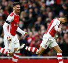 Alexis le dio el triunfo a Arsenal