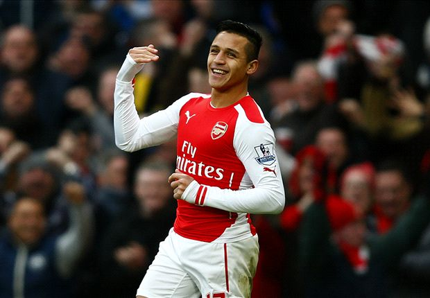 Arsenal 3-0 Stoke City: Alexis stars as Gunners move above Spurs