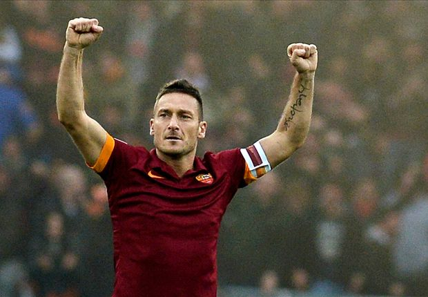 Roma 2-2 Lazio: Totti salvages draw for Garcia's men in entertaining derby