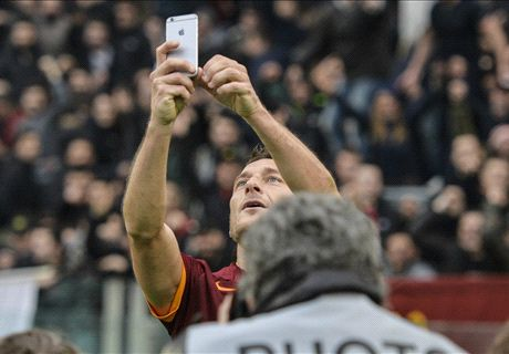 Totti and his selfie rescue Roma