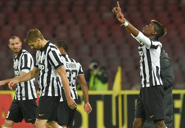 Napoli 1-3 Juventus: Pogba volley sends visitors clear