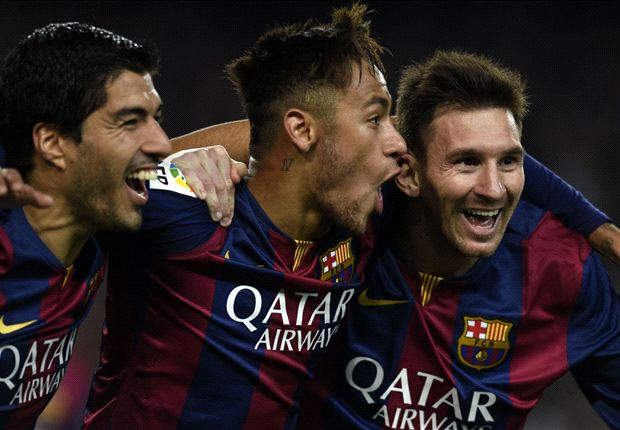 Barcelona 3-1 Atletico Madrid: Neymar, Suarez and Messi see off tough-tackling champions