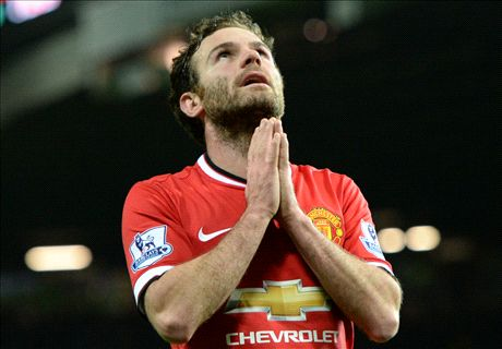 Mata's first year at Man Utd