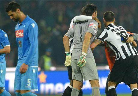 Juventus-Napoli LIVE! 0-0, ritmi alti