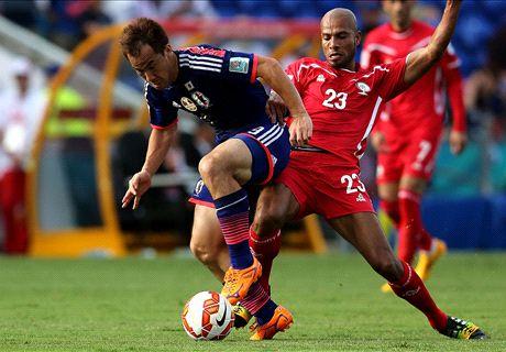 Japan 4-0 Palestine: Easy opener