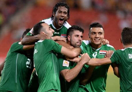 Laporan Pertandingan: Yordania 0-1 Irak