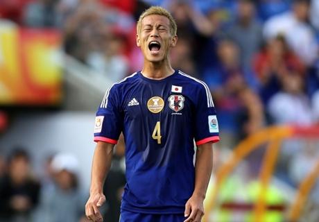 VIDEO: Honda misses Asian Cup sitter