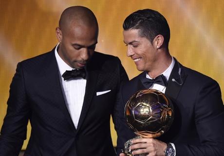 Henry vindt Messi beter dan Ronaldo