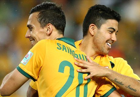 Luongo thriving as a Socceroo star