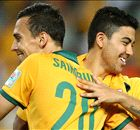 Sweet redemption for Socceroos