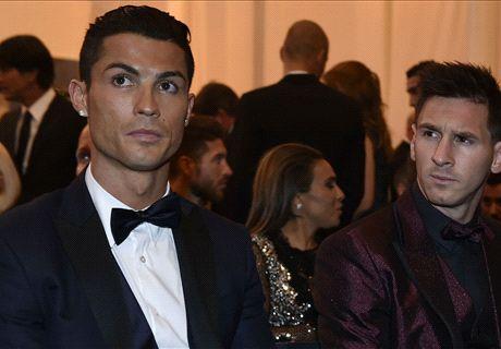 Le fils de Ronaldo est fan de Messi