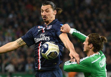 Saint-Etienne 0-1 PSG: Zlatan winner