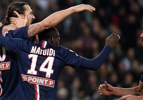 Player Ratings: Saint-Etienne 0-1 PSG