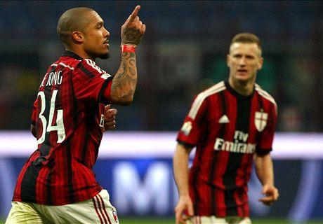 Lyon und Milan gehen hart zur Sache