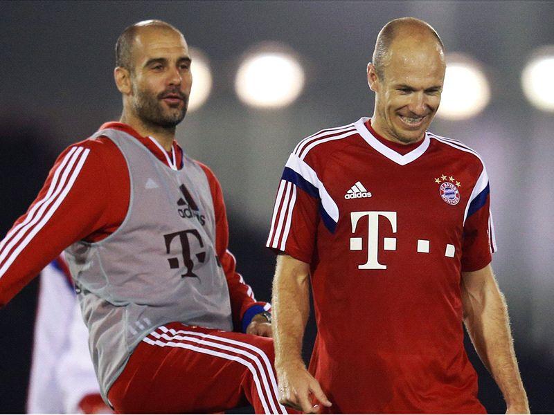 """Robben: Guardiola? """"Taktisch ist er der Beste der Welt"""""""