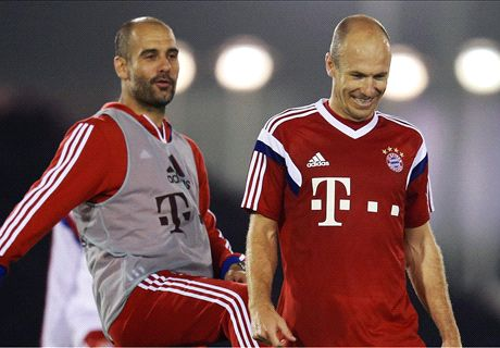 Nobody's better than Guardiola - Robben