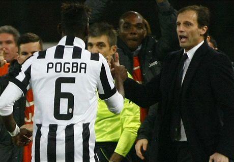 Allegri: Pogba can win Ballon d'Or