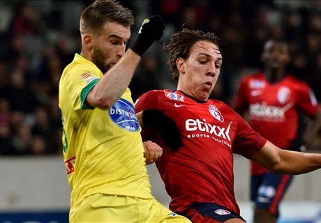 Résumé de match, Lille-Nantes (2-0)