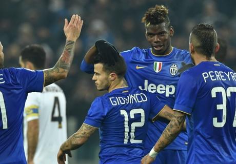 Coppa Italia: Juventus 6-1 Hellas Verona