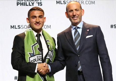 Sounders headline MLS draft winners
