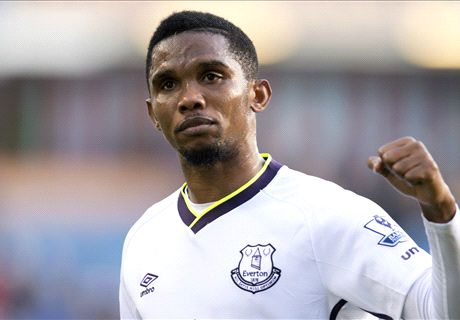 Official: Samp sign Eto'o from Everton